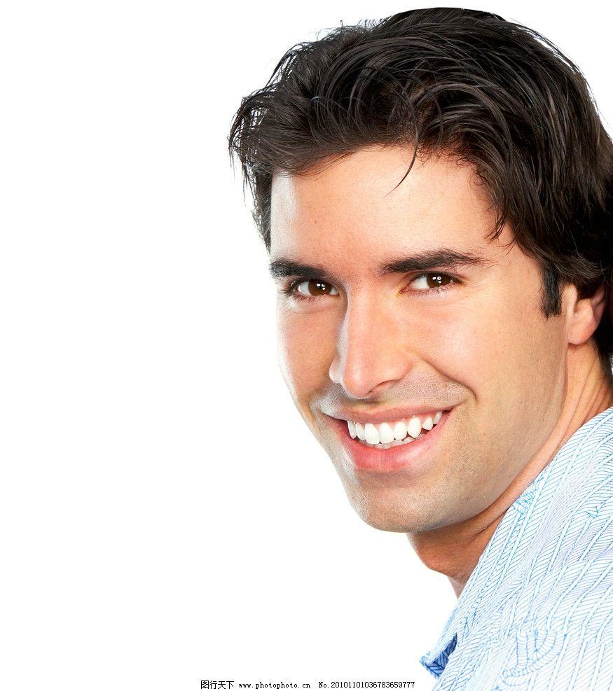 男人 英俊 外国 帅哥 职业 模特 阳光 笑脸 男性男人 人物图库 摄影 3
