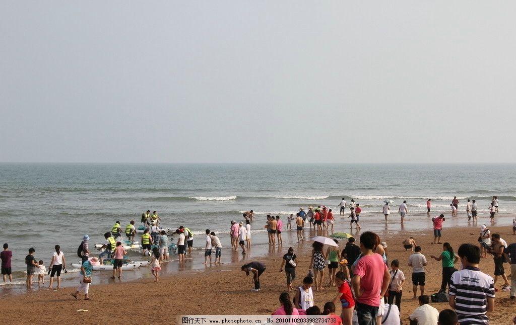 沙滩风情 海边 沙滩 青岛 洗浴 摄影 魅力青岛 国内旅游 旅游摄影 72
