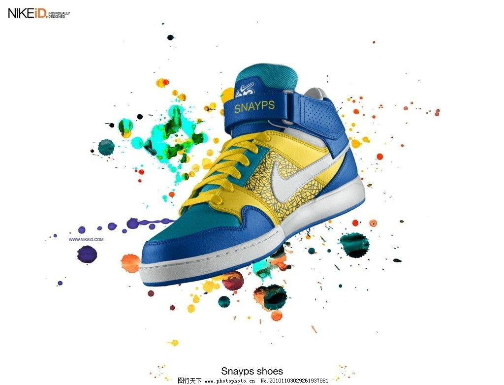 炫彩球鞋 耐克 球鞋 综训鞋 篮球鞋 招贴设计 广告设计 设计 72dpi