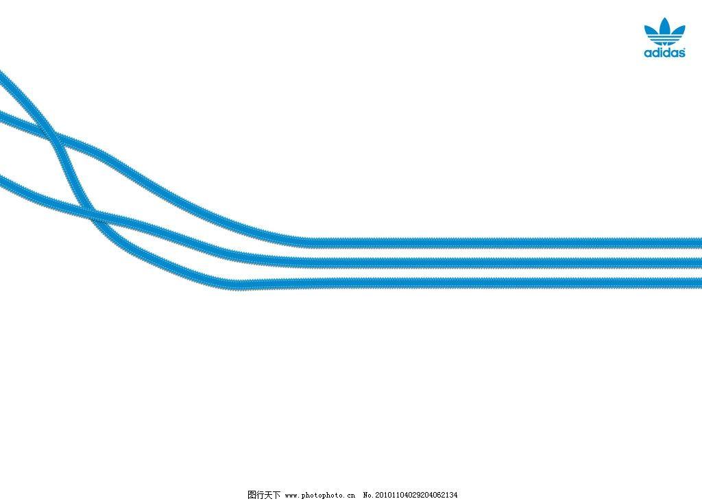 阿迪达斯 运动 体育 品牌 品牌主视觉 三叶草 活力 形象海报 招贴设计图片