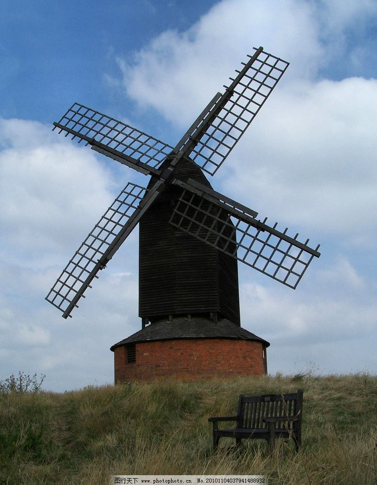 风车 摄影图片 风车摄影
