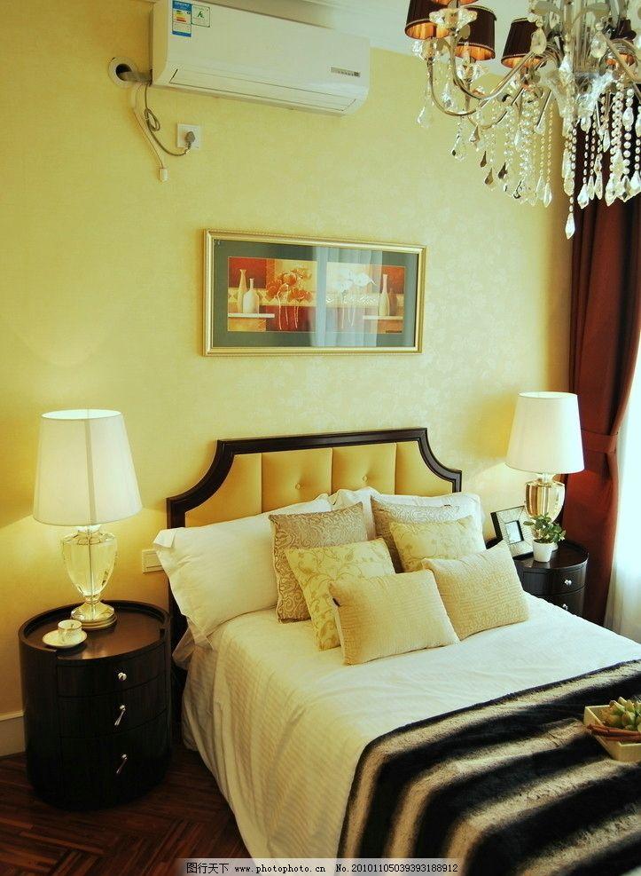 欧式古典装修格卧室图片