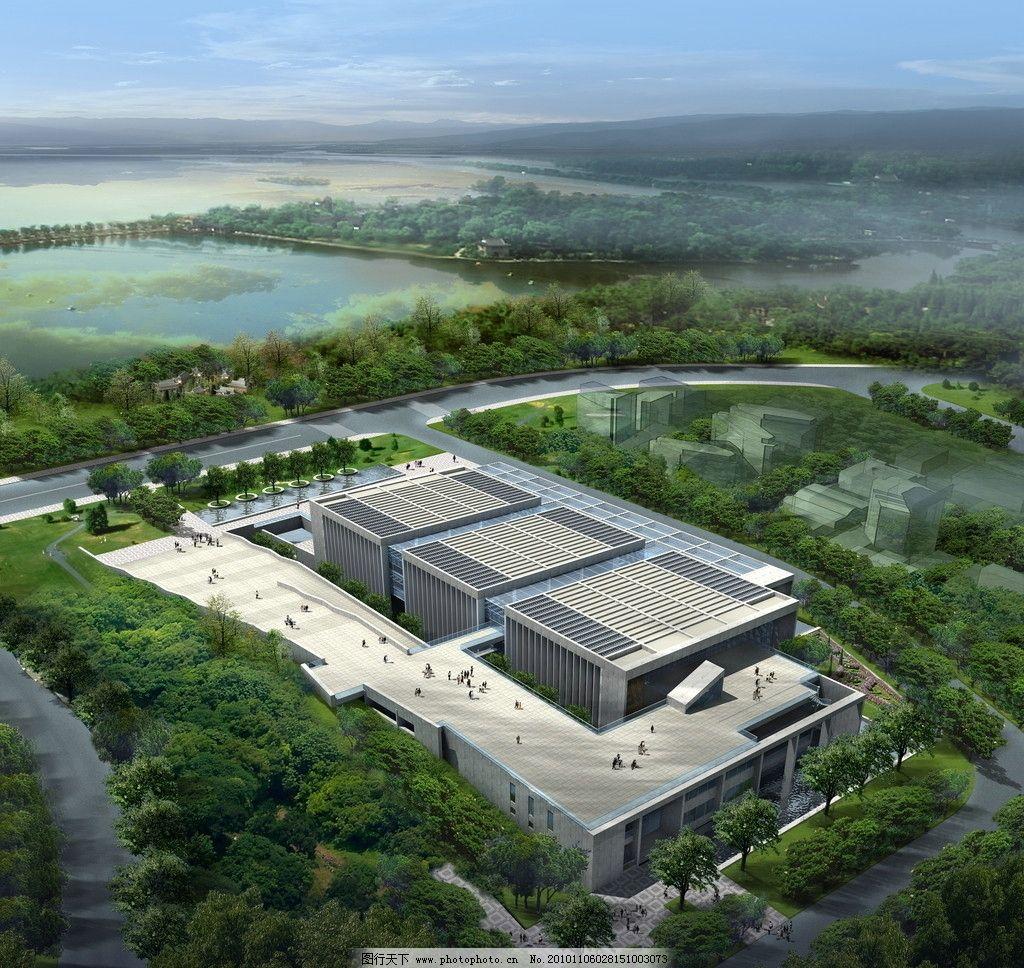 建筑设计 景观设计 小区规划 小高层 高档小区 现代建筑 办公楼效果图