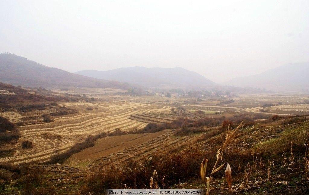 本溪西砬湖村 秋收 秋天风景 收获季节 丰收 自然风景 美丽风景