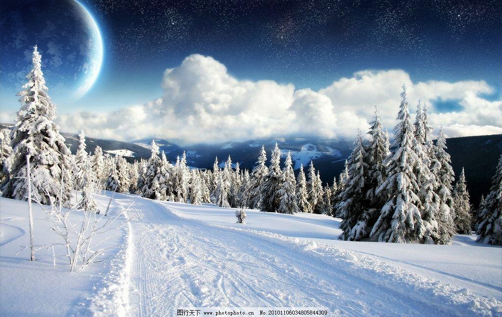 冬季美景 风光摄影图片 自然风光 冬天景色 冬季景色 冬季风光