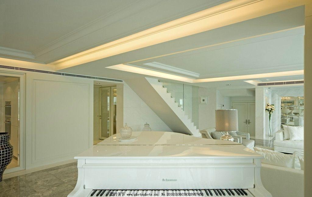 室内设计 室内装饰 装修设计 简约 时尚 大气 白色欧式 家装