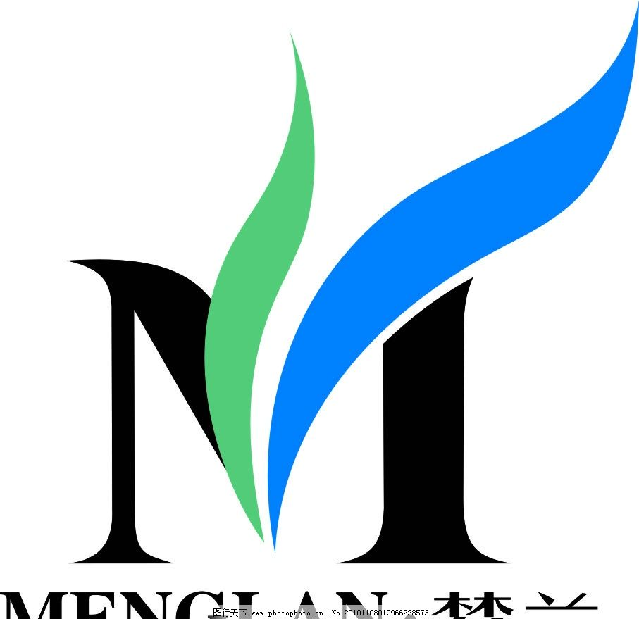 梦兰集团logo 梦兰 床上用品名牌 企业logo标志 标识标志图标 矢量