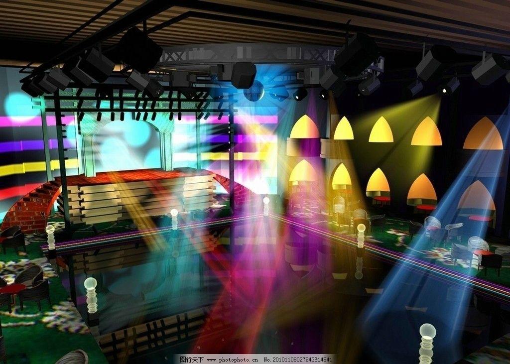 酒吧效果图 酒吧        灯光 夜场 水吧 清吧 夜生活 环境设计 室内