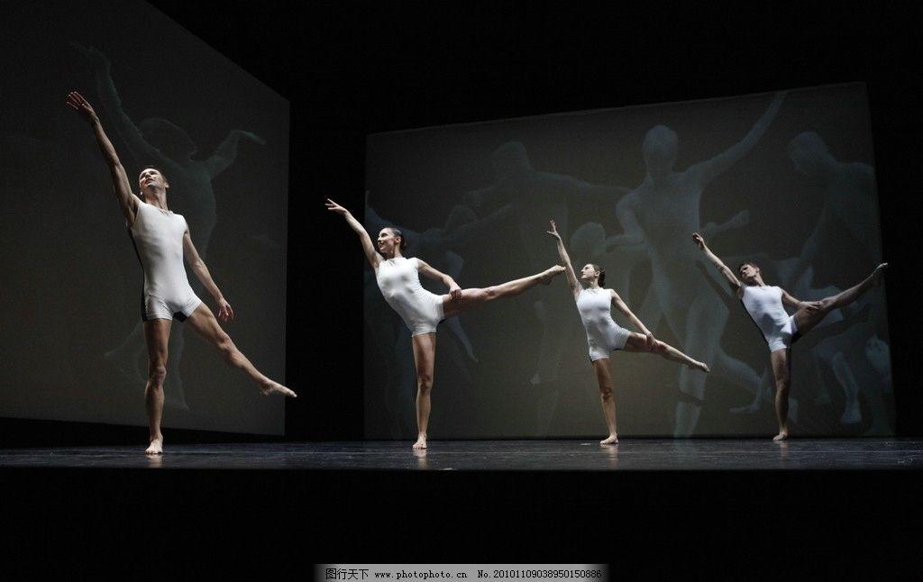 舞蹈 跳跃 舞台 艺术 姿势 视觉 形体 背景 摄影