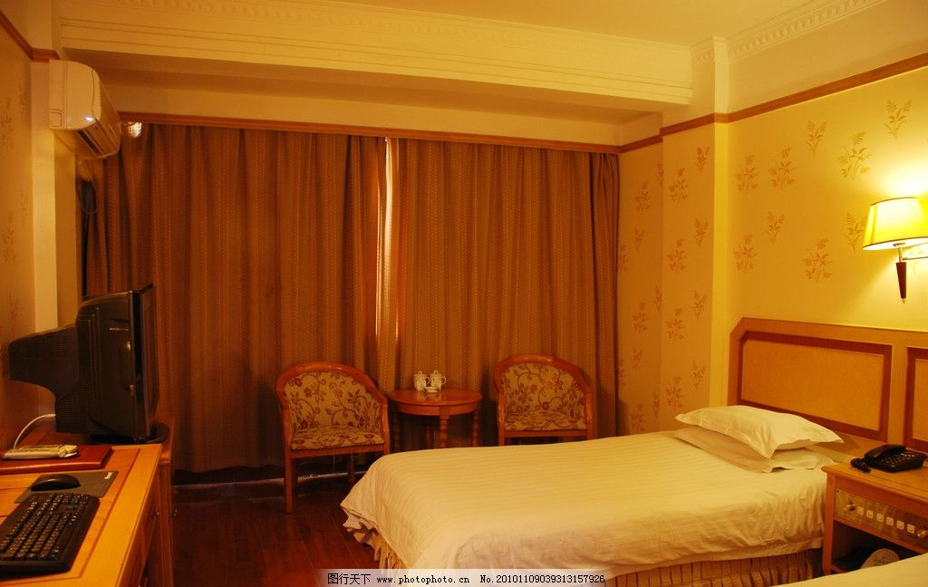 酒店房间 宾馆酒店房间 宾馆酒店标准间 宾馆客房 家庭宾馆 酒店室内