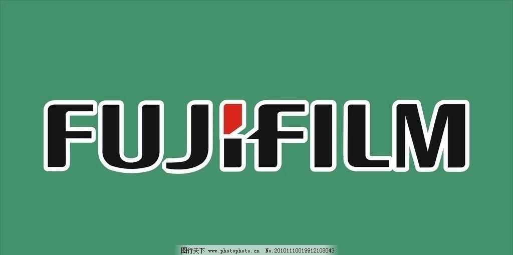 富士相机背景板 富士logo 产品logo 广告设计 矢量 cdr