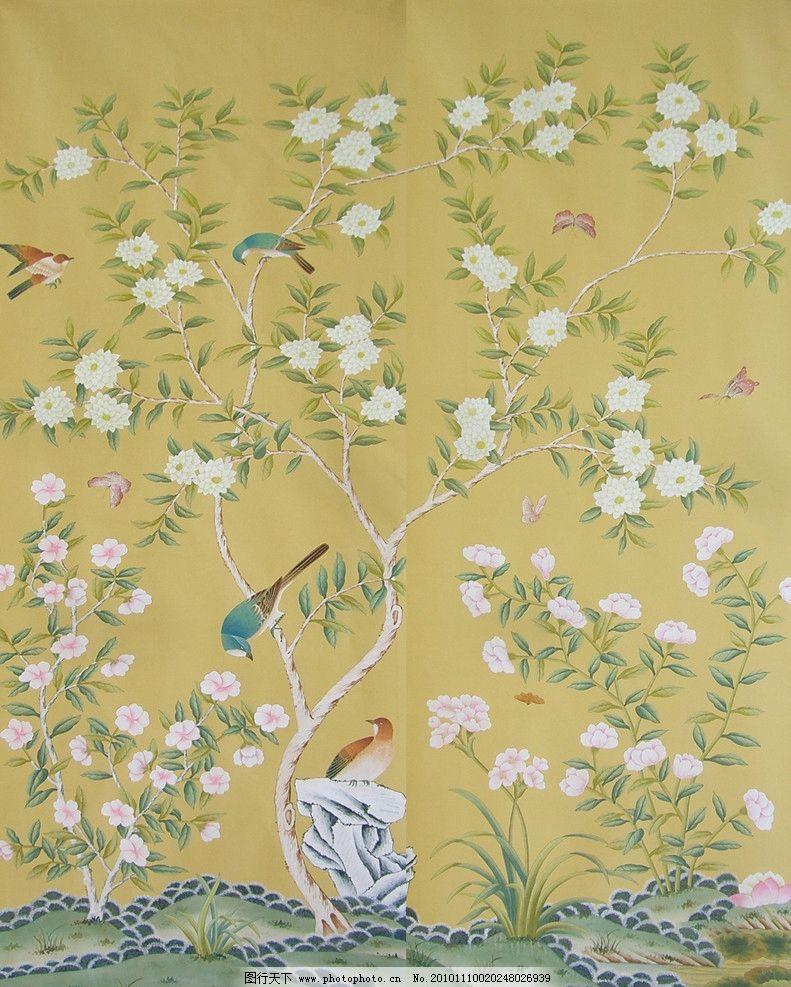 墙纸 墙纸贴图 墙纸材质 花纹 布艺材质 装饰样本 装饰材料 花布 背景