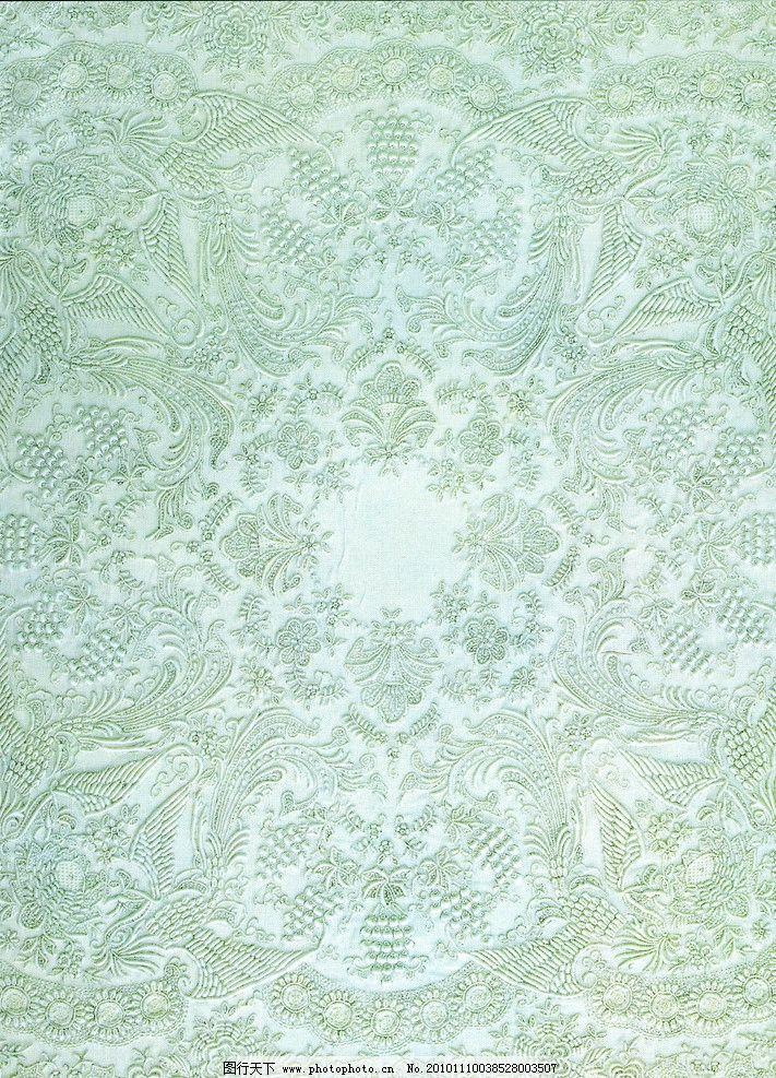 传统 绣花 艺术 古代 花纹 凤凰 精致 图案 底纹 吉祥图案 广告人图库
