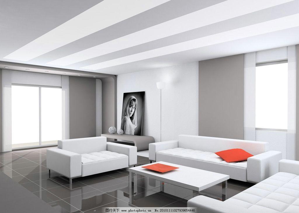 室内 设计 3d      沙发 窗户 地板 茶几 室内设计 环境设计 300dpi