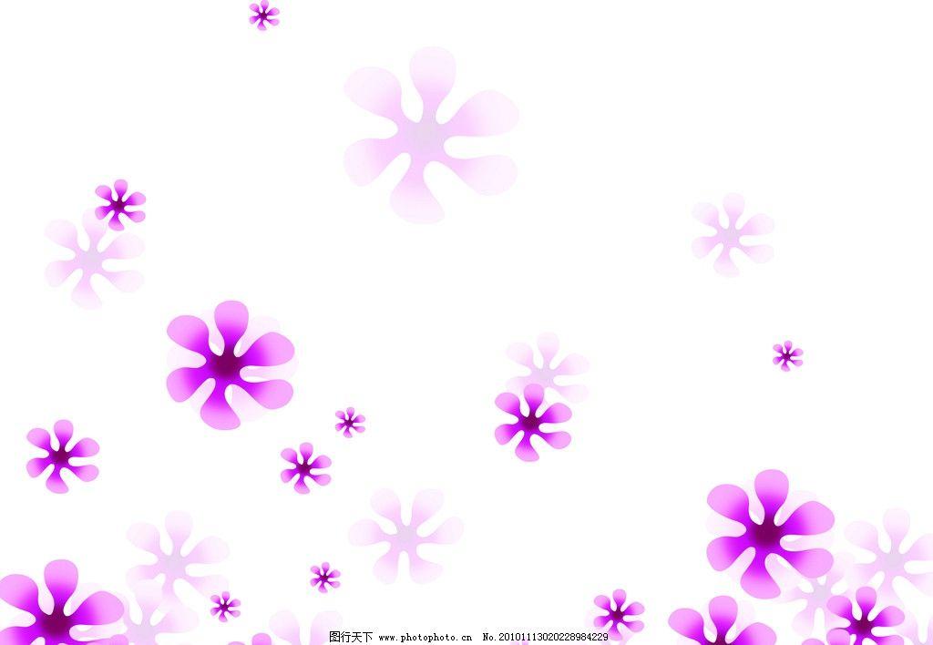 移门图 白底 碎花 紫色 小花 移门 背景底纹 底纹边框 设计 60dpi jpg