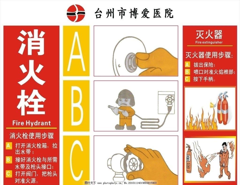 消火栓使用步骤图片