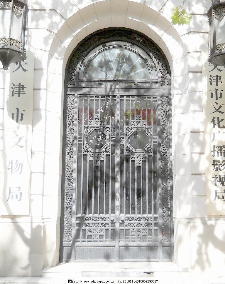 欧式入口大门图片