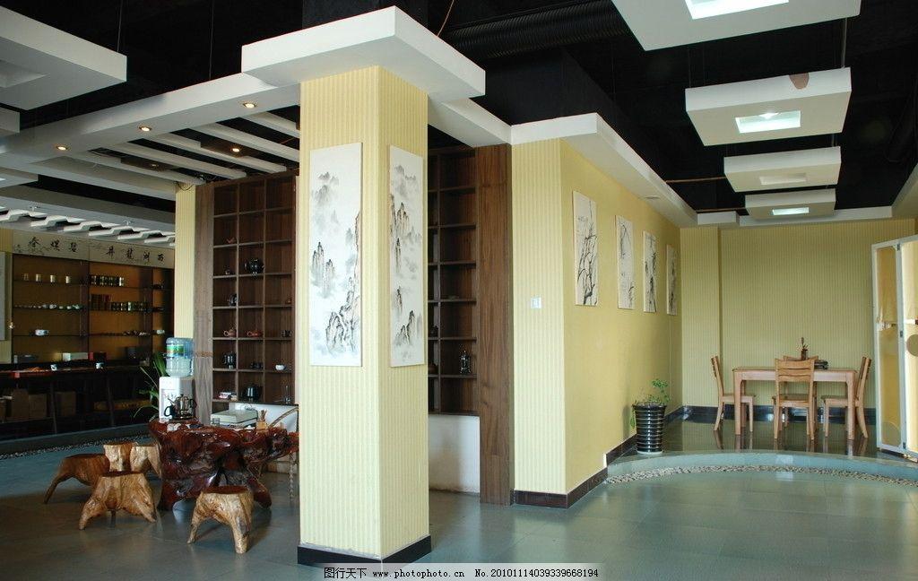 茶楼内部结构