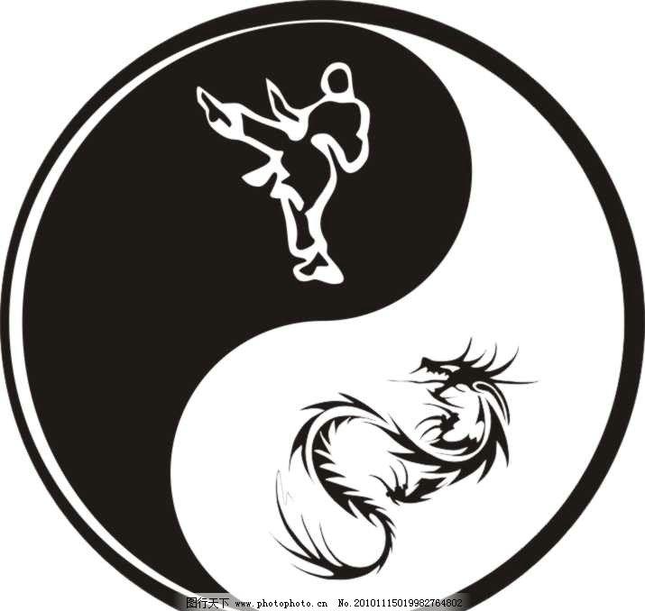 太极中医养生 太极 中医 养生      标志 龙 功夫 企业logo标志 标识