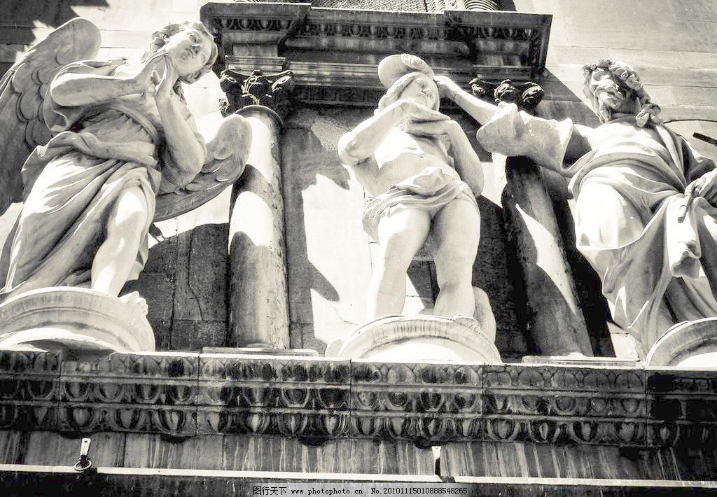建筑园林 经典 欧式 欧式雕像图片素材下载 欧式雕像 欧式 雕像 雕塑