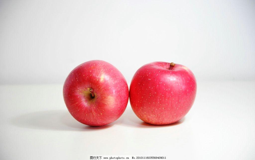 两个苹果图片