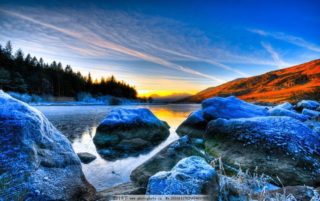 壮观 冬季风光 冬季美景 自然风光 自然景色 山水风景 自然景观 摄影