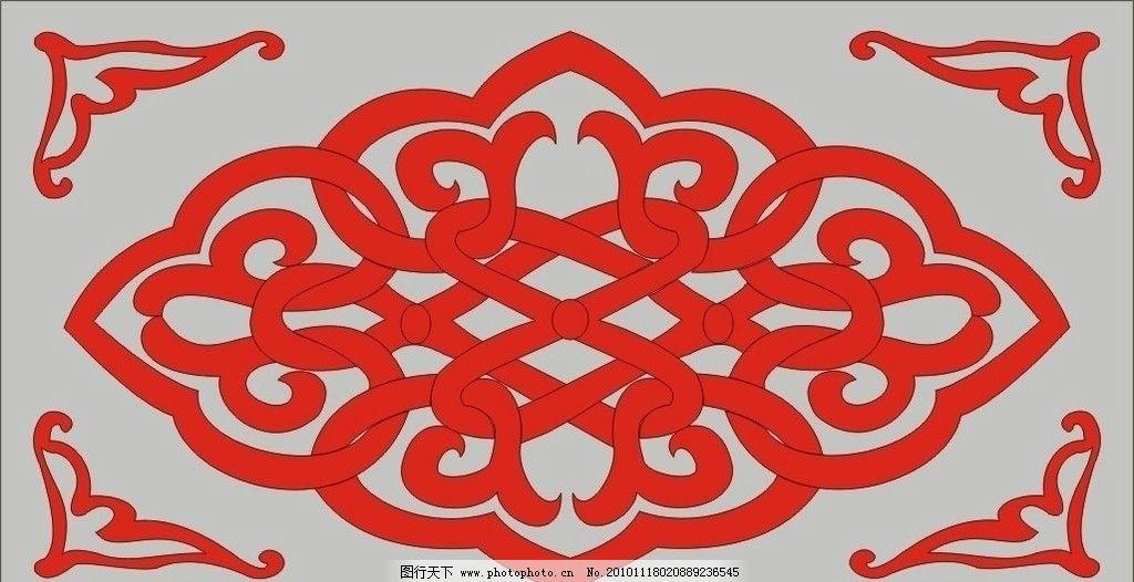剪纸 花纹 底纹边框