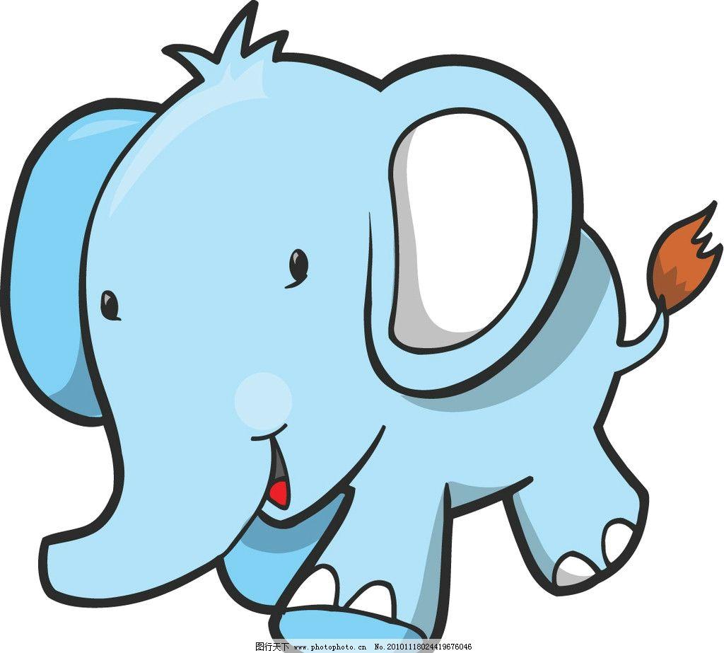 幼儿园大象范画