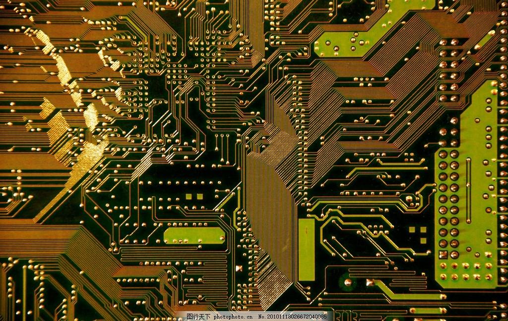 集成板 集成电路 电子元件 电路 电子 科技 电路板走线 电路板纹路