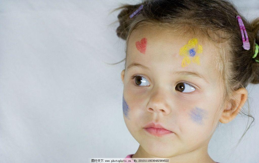 儿童高清图片,小孩 颜料 涂料 宝宝 顽皮 可爱 调皮