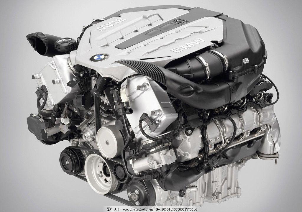 汽车发动机高清图片