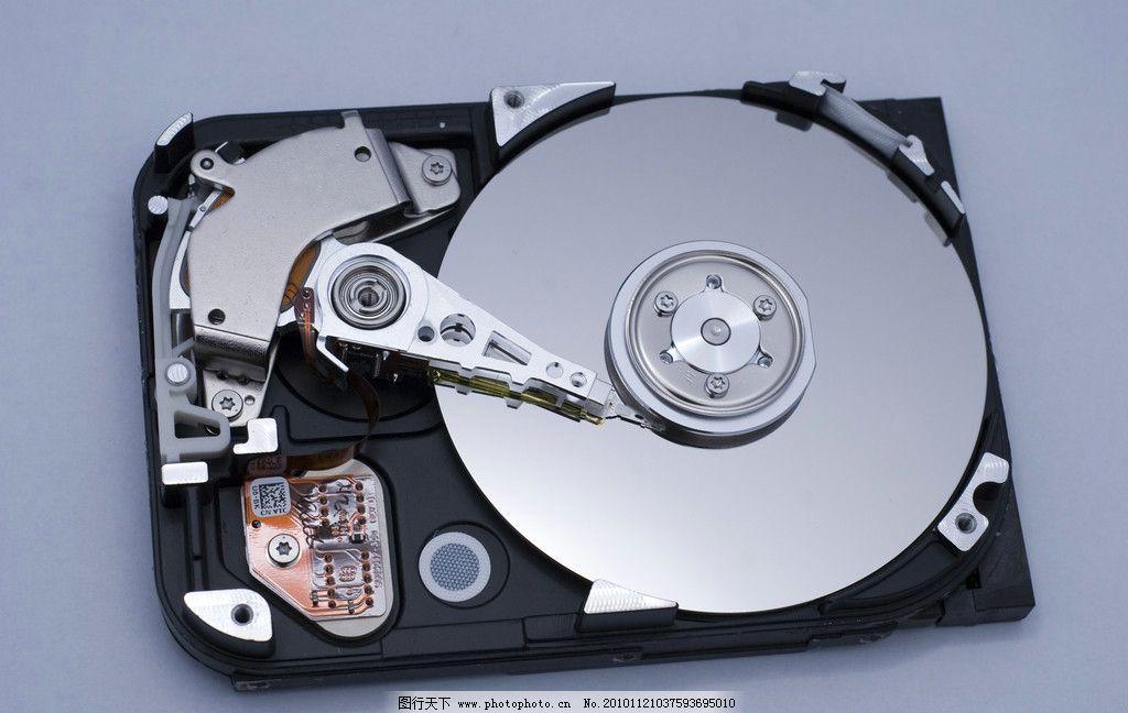 内部结构 移动硬盘 电脑配件 硬件 电脑硬件 ssd 读写 硬盘内部 磁头