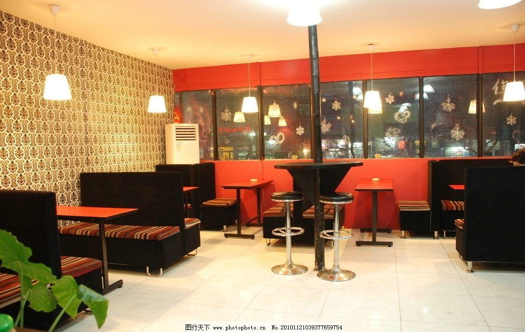 韩国料理店 料理店 美食店 装修 餐饮美食 装饰 环境 场景 室内摄影