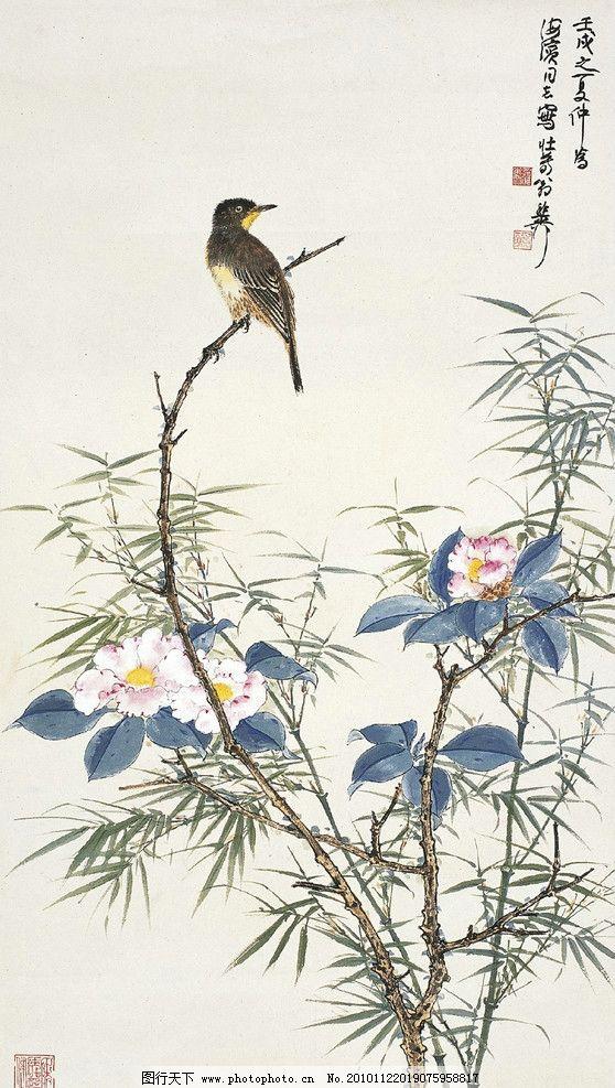 国画牡丹 李怀臣 中国画 工笔 牡丹 春梦 绘画书法 文化艺术 设计 300