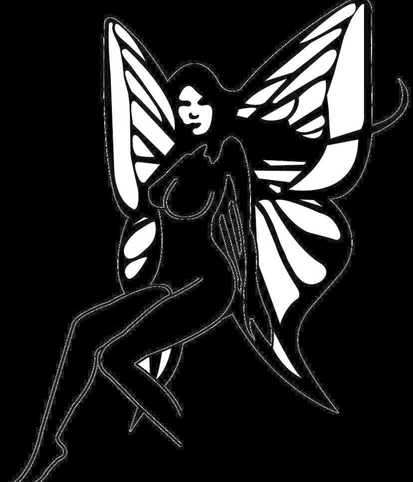 美女蝴蝶图片