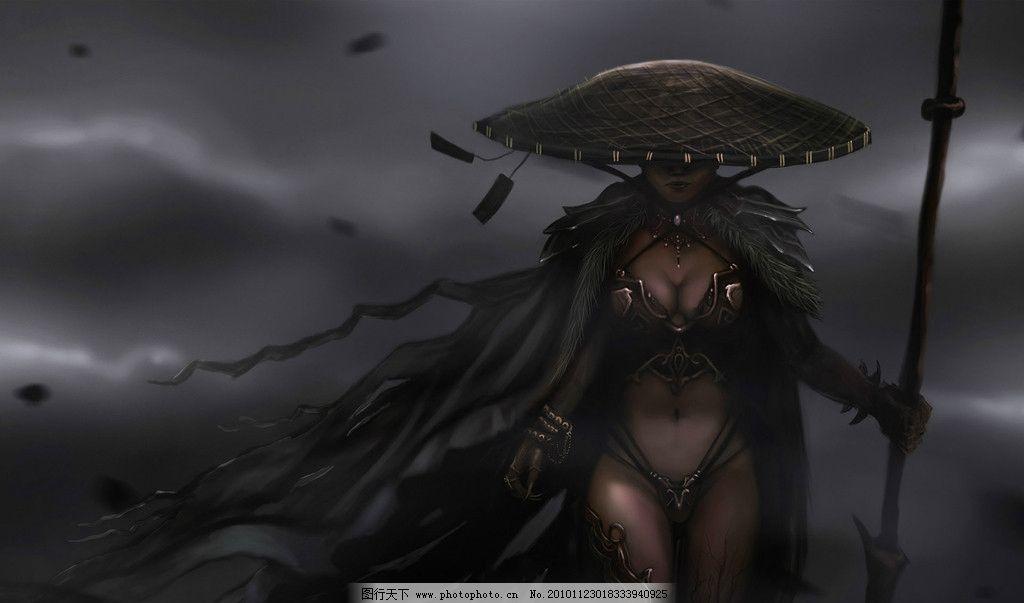 游戏美女 3d美女 游戏人物 手绘美女 游戏写真 cg 3d 魔幻 科幻 争霸