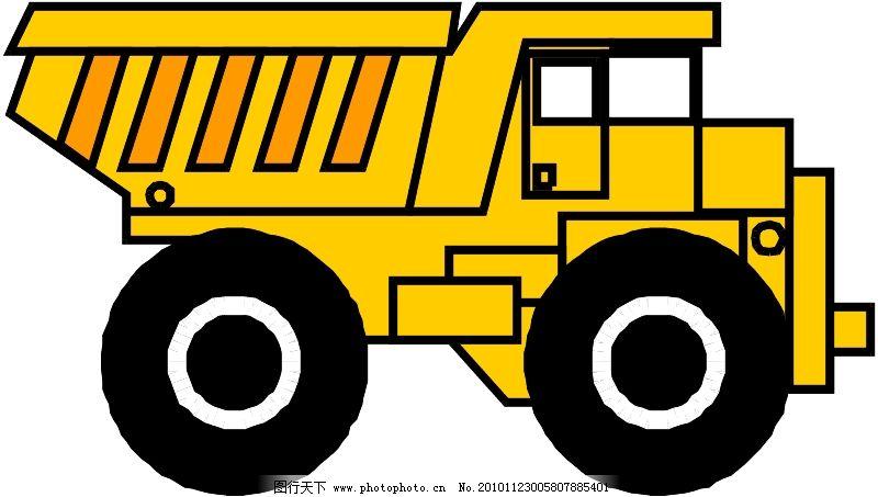 工程车辆与设备0017_现代科技_矢量图_图行天下图库
