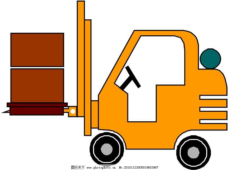 工程车辆与设备0029_现代科技_矢量图_图行天下图库