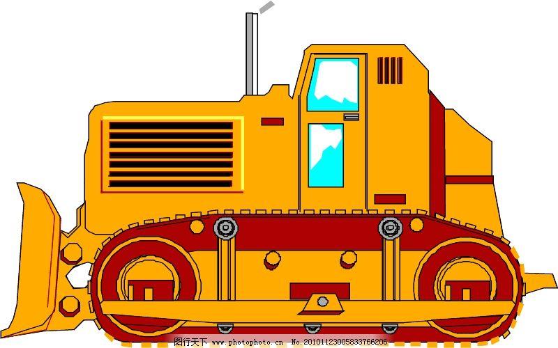 工程车辆与设备0071_现代科技_矢量图_图行天下图库
