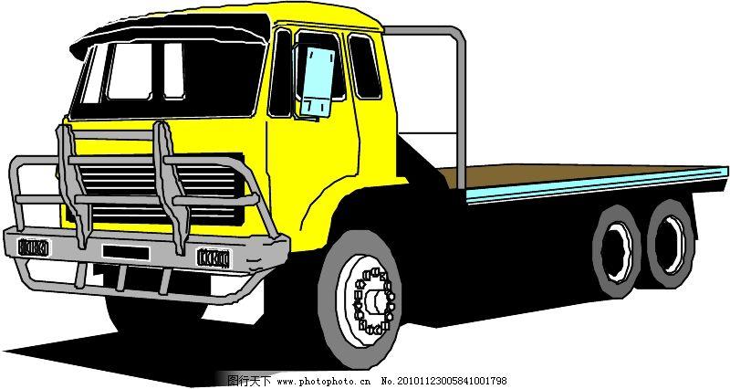 工程车辆与设备0027_现代科技_矢量图_图行天下图库