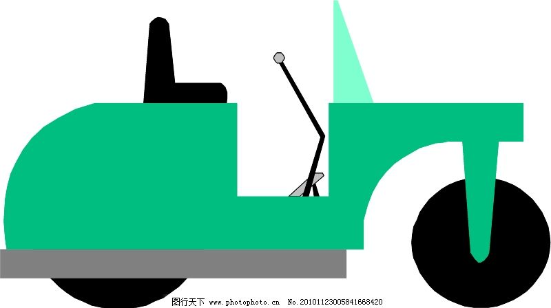 工程车辆与设备0007_现代科技_矢量图_图行天下图库