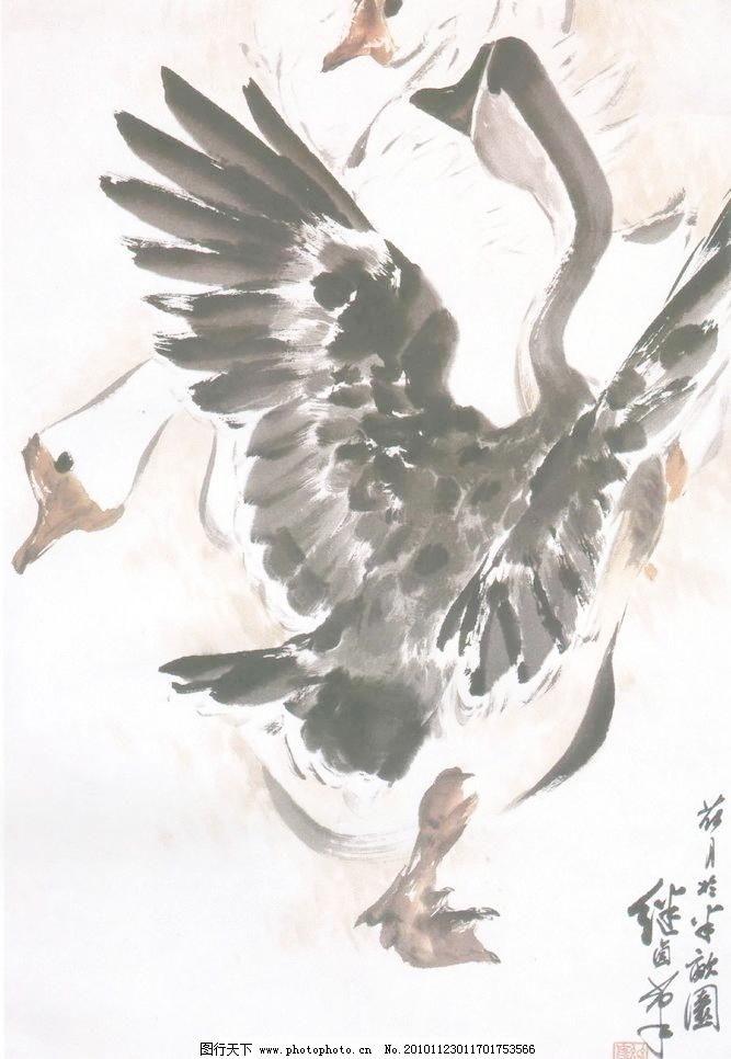 国画 中国画 山水画 写意画 书法 大师作品 风景画 写意 水墨画 动物
