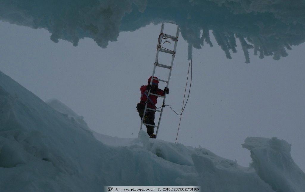 攀登雪山 雪山风景图片