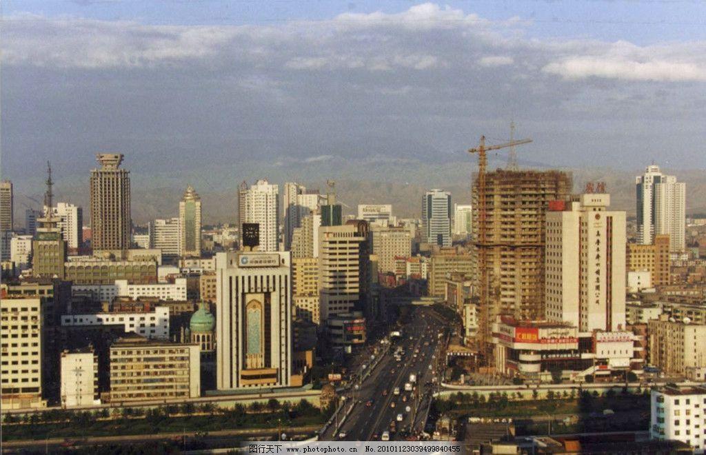 美丽的乌鲁木齐 新疆 乌鲁木齐 城市 美丽 高楼大厦 建筑摄影 建筑