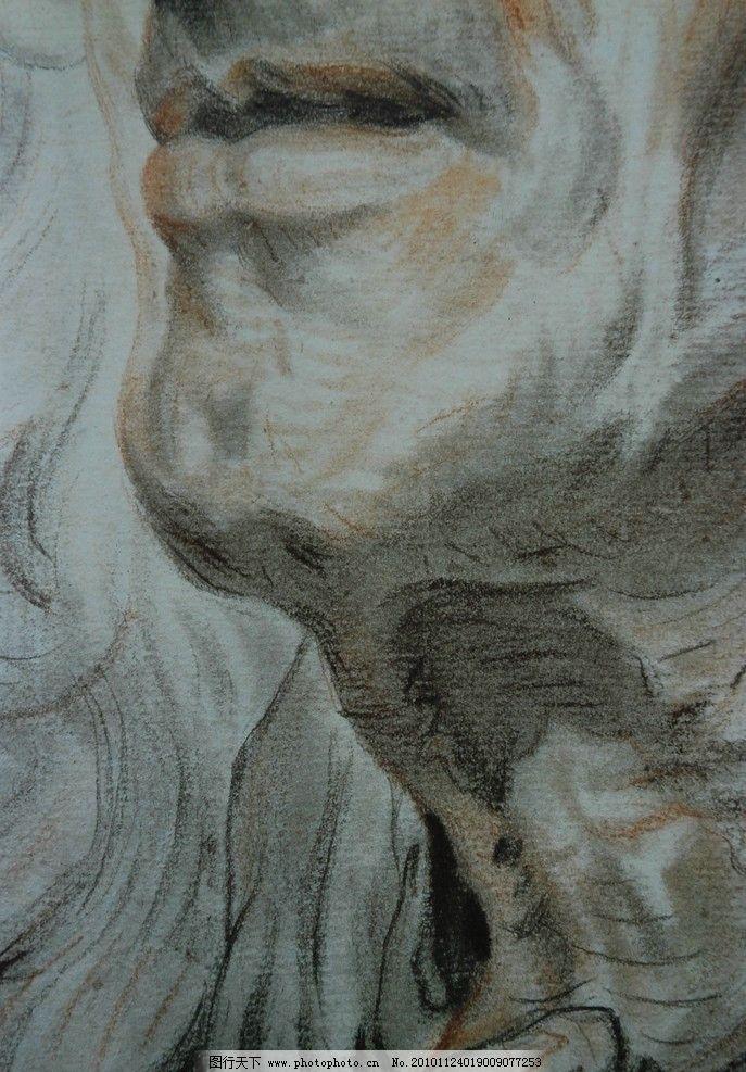 法国画家 格勒兹 经典素描 头像素描 素描      肖像 人物 老外 线描
