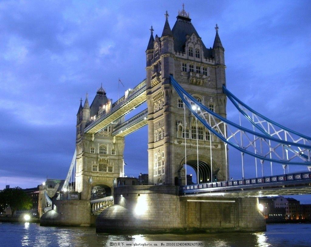 伦敦/伦敦塔桥 夜景图片