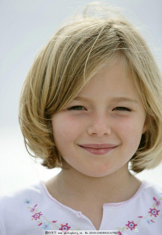 小女孩图片,快乐儿童 微笑 笑脸 外国小孩 国外小孩