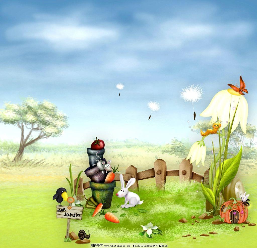 童话背景图片图片