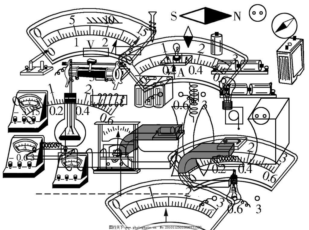 物理 电压表 电流表 开关