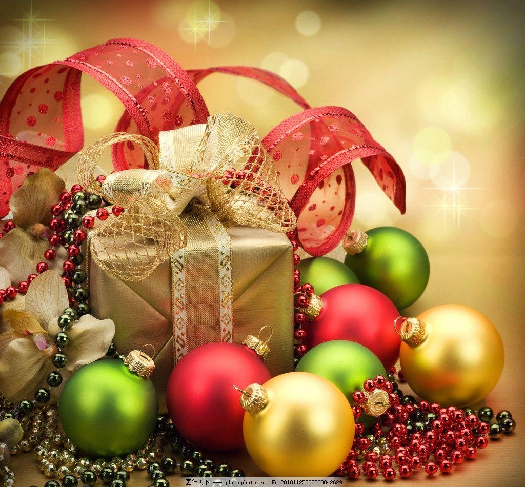 圣诞礼物图片_树木树叶_生物世界_图行天下图库